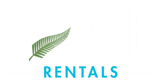 Lake Rentals Logo - White