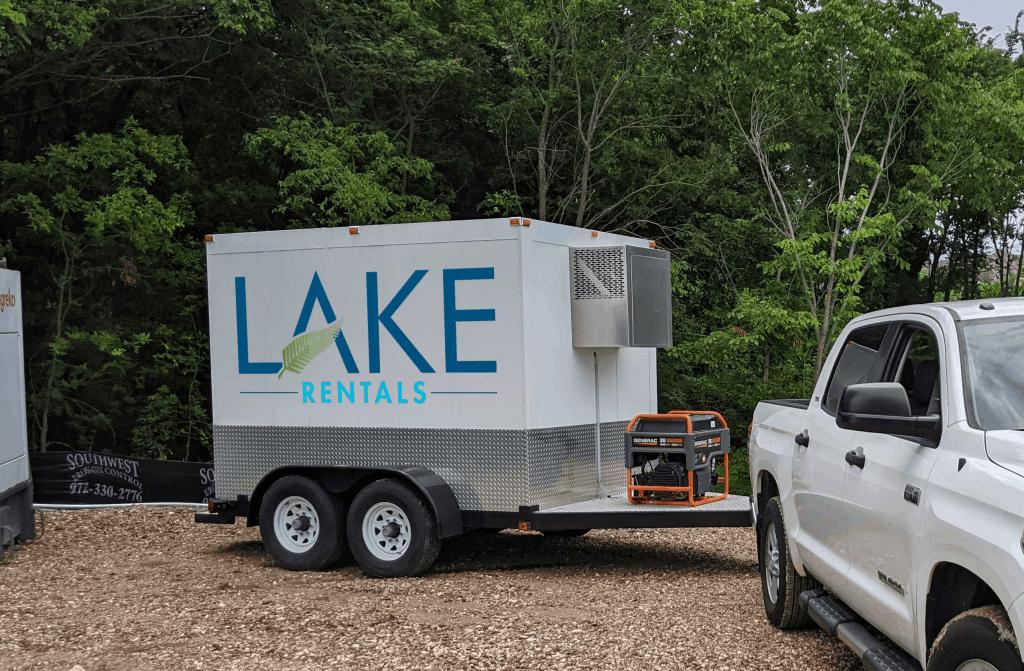 Lake Rentals Trailer